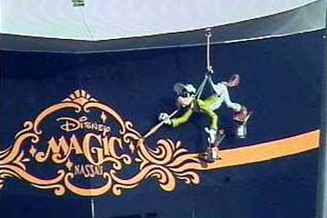 The Disney Magic's magical touch