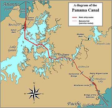 else to do around the panama canal panama canal maps: canal-cruise-panama.com/panama-canal-maps.html